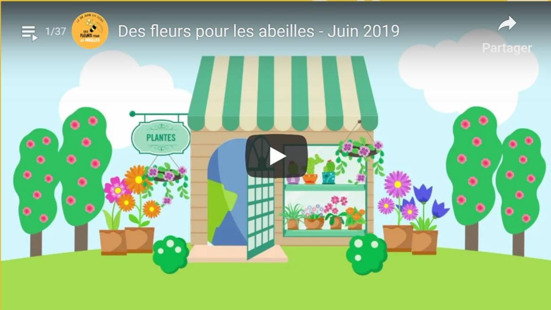 3° édition des Fleurs pour les Abeilles du 14 au 23 juin 2019