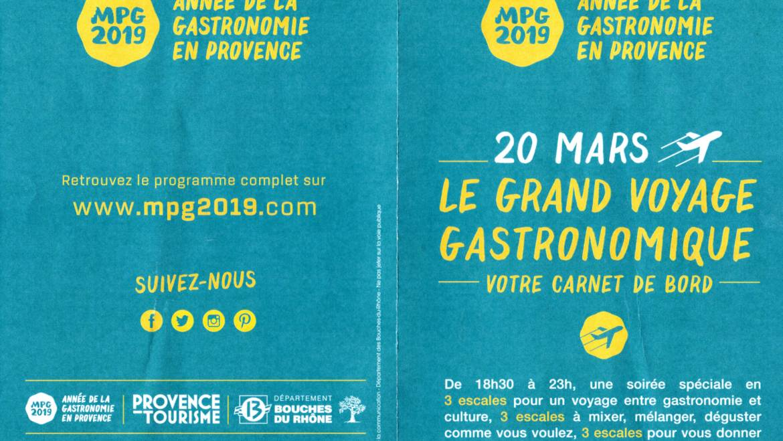 2019-03-20 MPG2019 ouverture de l'année de la gastronomie en Provence.