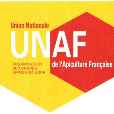 Abeilles et Fleurs de France n°820 Novembre 2019 Apimondial poster UNAF