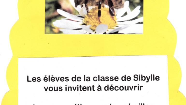 Exposition sur les abeilles à l'école maternelle des Calanques 2019-01-11