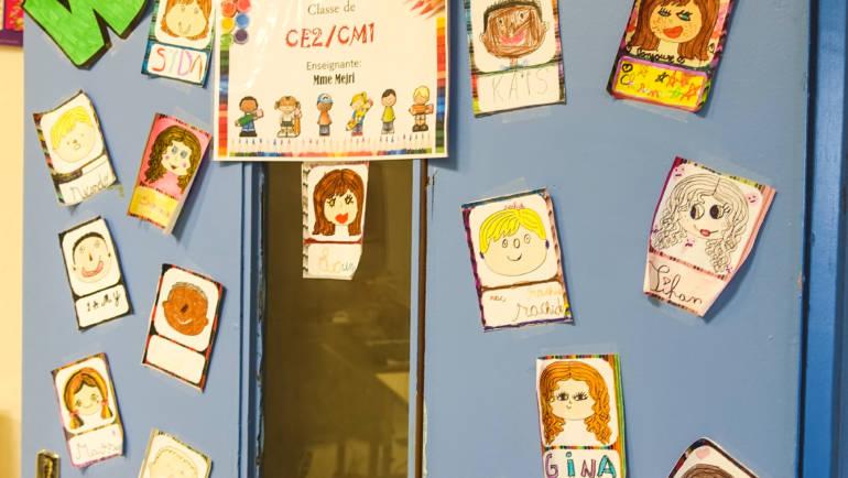 2019-01-31 Sensibilisation école de la Baume classe de CE2/CM1 de Dhouha MEJRI